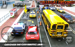 illegal city traffic