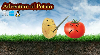 खेलें Adventure of Potato