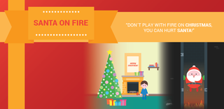 Play Santa on Fire