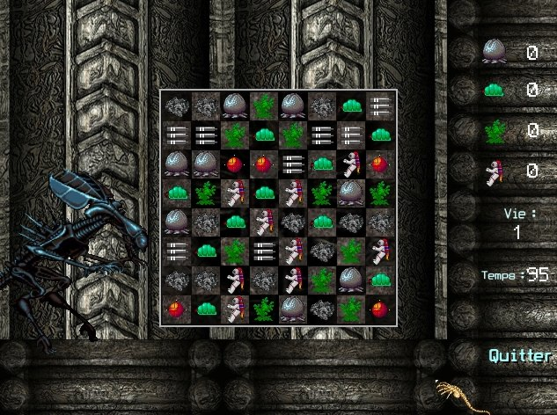 Play Alien Puzzle Invasion