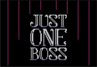 プレイ Just One Boss