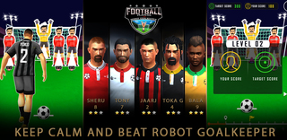 Pelaa FootballStrike/RoboKeeper