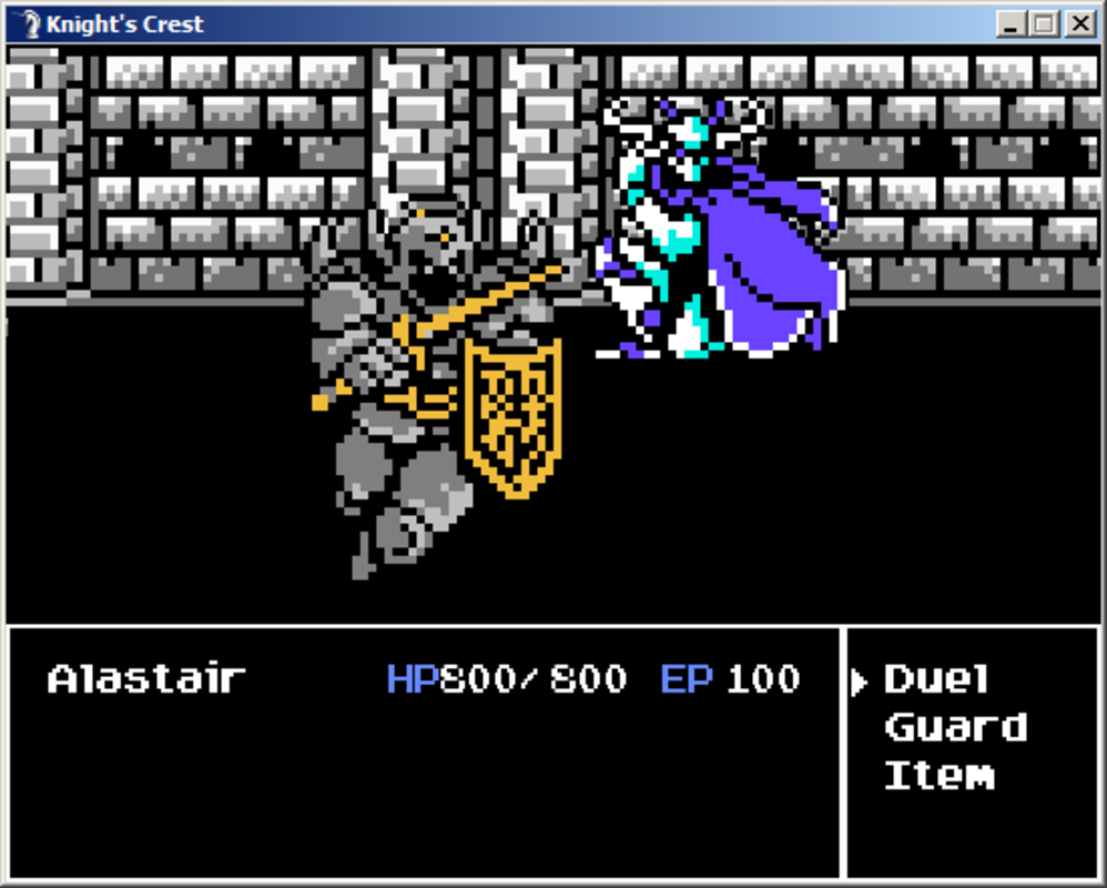 Play Knight's Crest