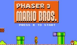 게임하기 Phaser 3 Generic Platform