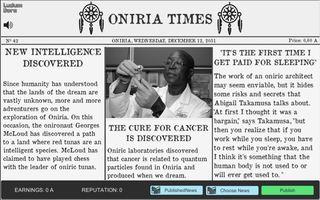 Играть Oniria Times