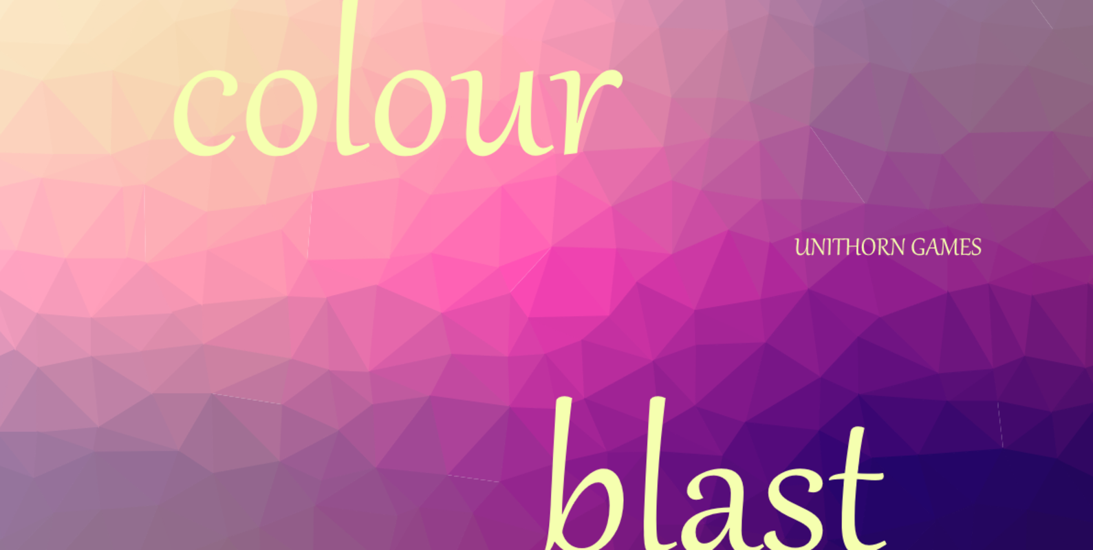 Play colour blast