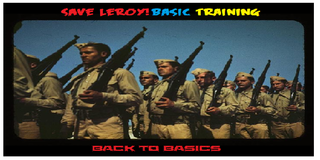 Играть Save Leroy Basic Training