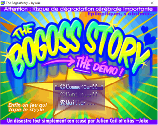玩 BogossStory (THE Demo)