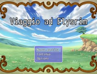 Spelen Viaggio ad Elysrim