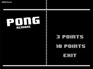 Pong Remake
