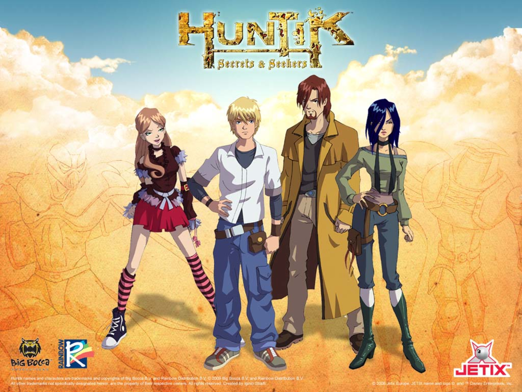 Play Huntik:fan rpg game