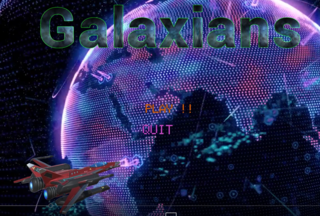 Play The Galaxians