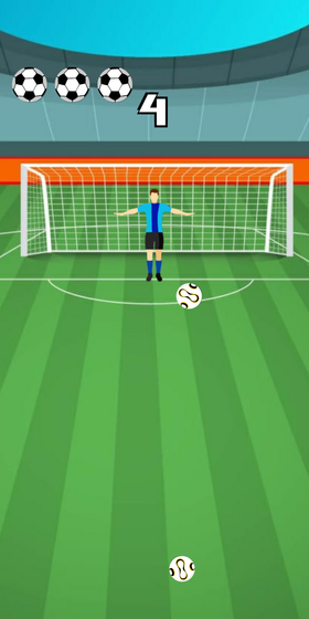 Play Goalkeeper 2D