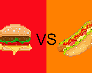 게임하기 Hamburgers VS Hot Dogs