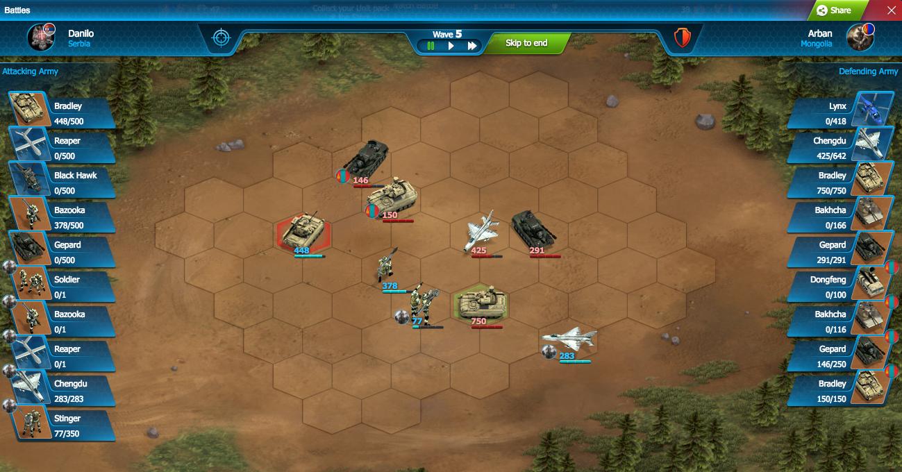 게임하기 World War Online