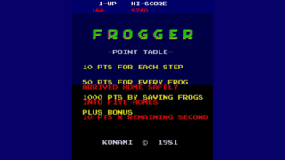 Play Classic Frogger