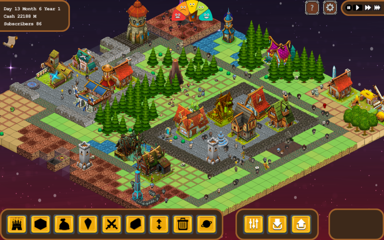 Play Fantasy World On. Tycoon