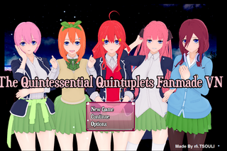 Zagraj Quintuplets Visual Novel