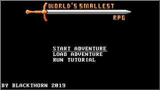 プレイ World's Smallest RPG