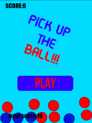 PICKUP THE BALL!!!!