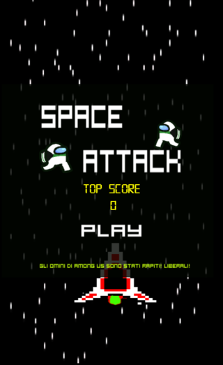 Bermain SPACE ATTACK