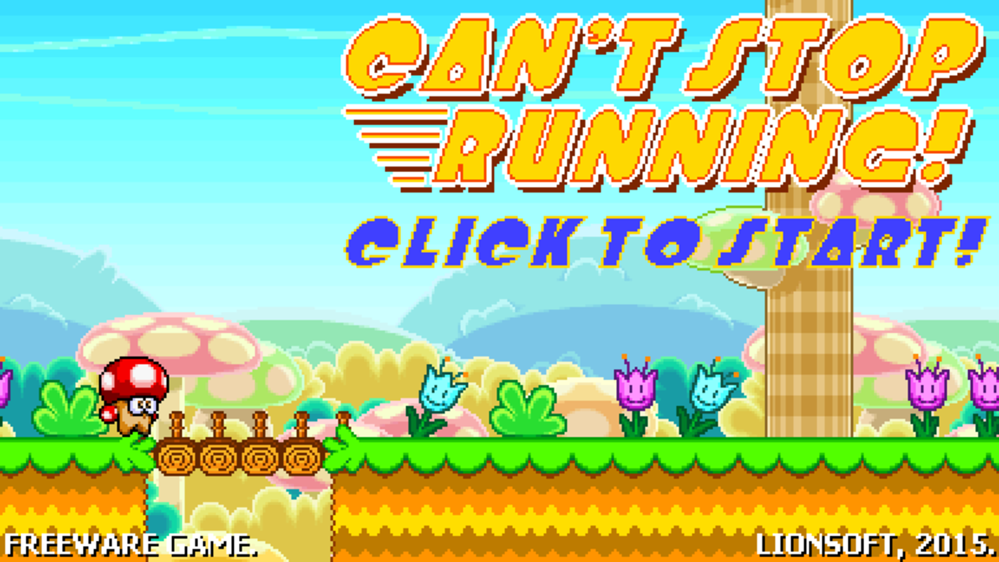 Play Can't Stop Running
