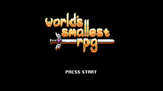 Jugar World's Smallest RPG: Rev