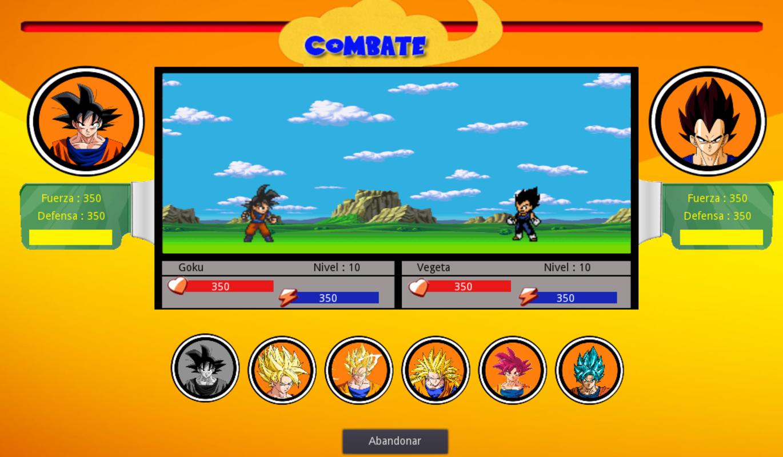 Play PacoBall (Dragonball RPG)