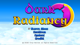 Dark Radiancy